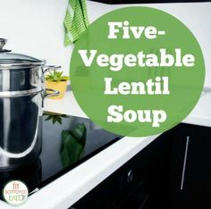 Lentil Soup with Italian Sausage and Vegetables | Recipe | Lentils ...