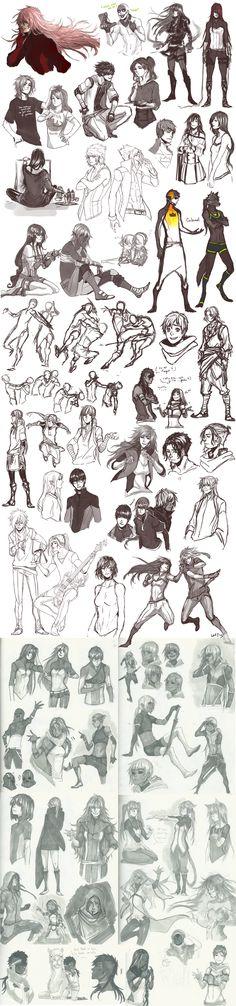 Sketch Dump 31 by Namonn.deviantart.com on @DeviantArt