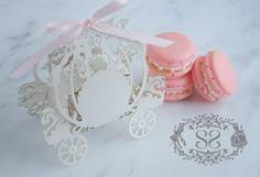 Wedding Favors Macaron Favor Princess by SplendidSweetShoppe, $52.50