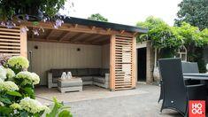 Buitenpracht Houtbouw - Buitenverblijf met houtkachel en keramische tegels - Hoog ■ Exclusieve woon- en tuin inspiratie.