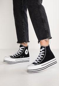CHUCK TAYLOR ALL STAR PLATFORM - Sneaker high - black ...