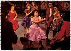 """Anita (Rita Moreno): [singing] """"Puerto Rico / My heart's devotion / Let it sink back in the ocean / Always the hurricanes blowing / Always the population growing / And the money owing / And the sunlight streaming / And the natives steaming / I like the island Manhattan / Smoke on your pipe / And put that in!"""" -- from West Side Story (1961) directed by Robert Wise and Jerome Robbins"""