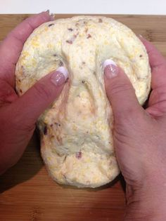 Make your favorite cheese ball recipe and shape it into a skull instead of the normal ball. You may need to chill the cheese to get a moldable consistency.