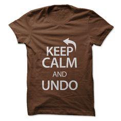 Keep calm and undo