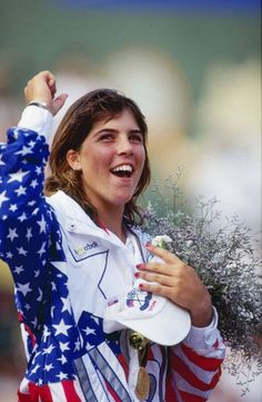 Jennifer Capriati. 1992 Barcelona Olympics. Capriati defeated Steffi Graf for the tennis singles gold medal.