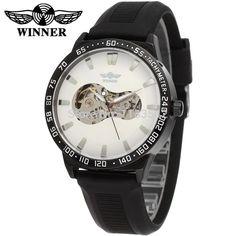 $33.00 (Buy here: https://alitems.com/g/1e8d114494ebda23ff8b16525dc3e8/?i=5&ulp=https%3A%2F%2Fwww.aliexpress.com%2Fitem%2F2014-WINNER-WRG8030M3B2-Automatic-fashion-dress-wristwatch-black-watch-with-silicone-strap-for-men-hot-selling%2F1909982692.html ) WINNER WRG8030M3B2 Automatic fashion dress wristwatch black watch with silicone strap for men hot selling free ship for just $33.00