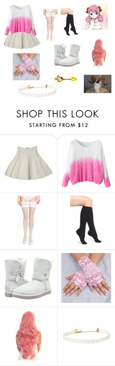 """""""Aries Fairy Tail"""" by opaldusk ❤ liked on Polyvore featuring Wolford, Pantherella, UGG Australia, women's clothing, women, female, woman, misses and juniors"""