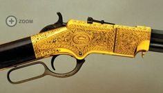 President Lincoln's engraved Henry rifle...Come on Nic Cage! We've gotta get to the Smithsonian, I need this rifle....