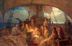 The Emigrant Ship John Absolon