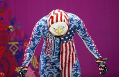 United States: Katie Uhlaender gets ready during a women's skeleton training session, Sochi 2014