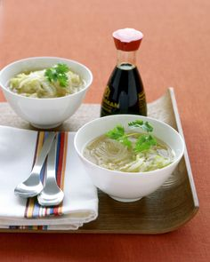 This Asian noodle soup lets you take advantage of leftover Roast Turkey with Sage in an inventive and healthy way.