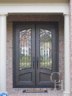 Iron Double Door Clark Hall Iron Doors Charlotte  NC  Glass Entry  Furniture  Innovative Rustic Door For Exterior Entryway With Solid  . Double Entry Doors With Glass. Home Design Ideas