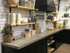 Beautiful farmhouse style kitchen at Magnolia Market. 5 Things to Know before you visit Magnolia Market Beautiful farmhouse style kitchen at Magnolia Market. 5 Things to Know before you visit Magnolia Market New Kitchen, Kitchen Renovation, Farmhouse Style Kitchen, Kitchen Decor, Small Kitchen, Home Kitchens, Kitchen Design, Kitchen Interior, Kitchen Dining Room