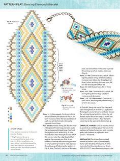 Beaded Bracelets Tutorial, Bead Loom Bracelets, Beaded Bracelet Patterns, Bead Loom Patterns, Bracelet Crafts, Peyote Patterns, Beading Patterns, Peyote Beading, Bijoux Diy