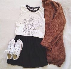 Large and comfy cardigans are perfect for fall/winter♡