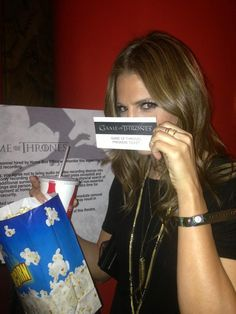 Stana Katic being cute