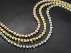 Bella Luce (R) 7.50ctw Round Rhodium & 18k Rose And Yellow Gold Over Silver Bracelet Set Of 3