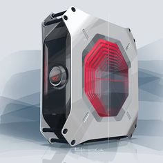 A futuristic and stunning gaming PC has been designed by BMW DesignworksUSA for their client, ASRock. The brief from ASRock was to create M8, a compact PC that would captivate its users even before they switch it on.