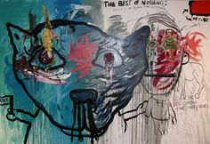 Bjarne Melgaard (Norwegian, b. 1967), Untitled, 2007. Oil on canvas, 200 x 300 cm.