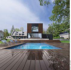 Casa Bord-du-Lac / Henri Cleinge