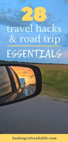 Planning your next road trip? Check out these 28 travel hacks and road trip essentials for anytime of year. Travel like a pro with these epic travel tips -- including resources for staying in places for free overnight, the best travel apps, and recommenda Road Trip Checklist, Road Trip Essentials, Road Trip Hacks, Road Trips, Best Travel Apps, Packing Tips For Travel, Travel Hacks, Budget Travel, Family Vacation Destinations