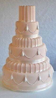 Over 25 Beautiful Pink Wedding Cake Ideas Amazing Wedding Cakes, Elegant Wedding Cakes, Elegant Cakes, Wedding Cake Designs, Amazing Cakes, Pretty Cakes, Beautiful Cakes, Naked Wedding Cake, Wedding Cupcakes