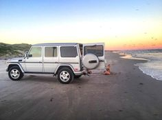 Family vacation in the G-wagon!