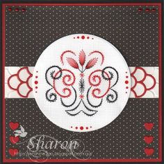 Ann has released 3 new stitching patterns. You can combine them or stitch them separately. Use your imagination and create ma. Craft Cupboard, Paper Art, Stitch Patterns, Symbols, Letters, Stitching, Cards, Costura, Papercraft