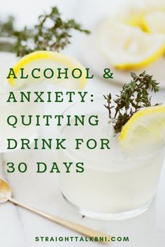 Do you get anxious on a hangover? Or maybe you are using alcohol as an escapism? I've done all these and more, but now I'm trying to quit alcohol for 30 days in an attempt to reduce my anxiety. Quit Drinking Alcohol, Quitting Alcohol, How To Quit Alcohol, Alcohol Detox, Giving Up Alcohol, Alcohol Free, Hangover Remedies, Alcoholism Recovery, Getting Sober