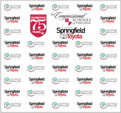 EPS and Springfield Toyota Step and Repeat Banner 15792 | www.sign11.com