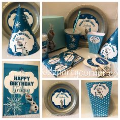Olaf theme supplies, favours and decor. We design and create any theme for any occasion and age customised according to your specifications. Door to door courier country wide at affordable prices - unique and convenient. Styling and set-up packages available in Pretoria and Johannesburg at you own venue or at one of our Alberton venues. Visit our website www.kidzpartycorner.co.za or email Info@kidzpartycorner.co.za