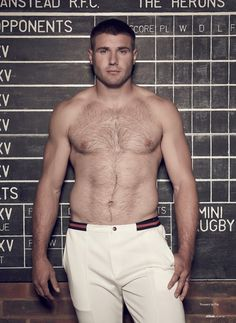 Ben Cohen... I knew there was a reason why I liked rugby.