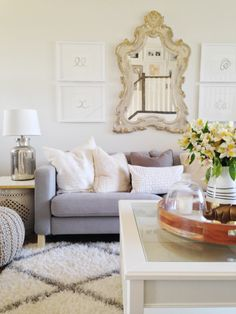 A Bright and Airy Home in Alberta Filled With Glam Personal Touches