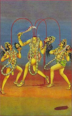 Chhinnamasta is one of the Mahavidyas, ten Tantric goddesses and a ferocious aspect of Devi, the Hindu Divine Mother.
