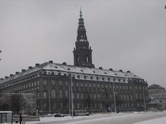 The Christiansborg Palace, seat of the Danish Government and Parliament (Folketing) in Copenhagen