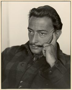 Johan Hagemeyer (American, born Netherlands, 1884–1962). Salvador Dali, Carmel, 1944. The Metropolitan Museum of Art, New York. Gift of Estate of Johan Hagemeyer, 1962 (62.684.15) #mustache #movember