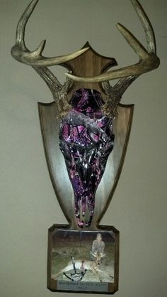 Gorgeous mount for ladies.  Custom Muddy Girl pattern - dipped with Hydrographics by: www.alexandersgeneralstore.com