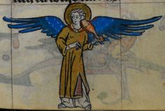 Detail from medieval manuscript, British Library Stowe MS 17 'The Maastricht Hours', f174r