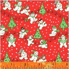 FABRIC STORYBOOK CHRISTMAS Snowman by DorothyPrudieFabrics on Etsy