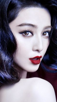 Fan Bing Bing classic kiss me pout                                                                                                                                                                                 More