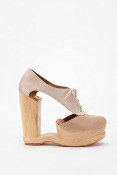 Jeffery Campbell Cutout Oxford - yes, it is one of the weirdest shoes ever.
