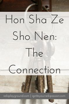 Hon Sha Ze Sho Nen HSZSN Reiki Symbol This week we are talking about Hon Sha Ze Sho Nen. Honestly, this Reiki symbol frustrates me. Okay, not the symbol itself, but how it's taught in western Reiki as the distance symbol.