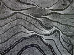 River Country 1348  by Anna Pitjara    http://www.aboriginalartcentre.com.au