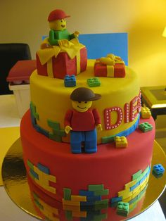 Lego Cake Ideas & Inspirations ~ Sweet Southern Blue!