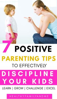 Does your child act defiant? It's time to learn to effectively discipline your child in a positive way. And, use logical consequences that are age-appropriate. When your kids won't listen try these 7 discipline tips and parenting ideas that really work. Toddler Discipline, Positive Discipline, Discipline Quotes, Positive Behavior, Gentle Parenting, Parenting Advice, Parenting Quotes, Parenting For Dummies, Positive Parenting Solutions