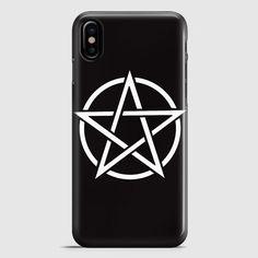 Pentagram Symbol Goth Metal Wiccan Magic iPhone X Case   casescraft