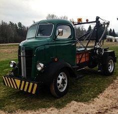 1937 GMC Rare Cabover And Rare Holmes Wrecker...