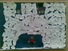 Lumilinna (Kemi Snow Castle). Revitty paperi.