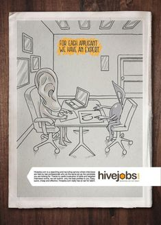 hivejobs ear recruitment marketing