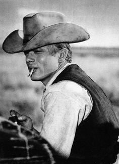 "James Dean en ""Gigante"", 1956"